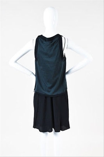 3.1 Phillip Lim Gray Black Quilted Shell Sleeveless Two Piece Dress 60%OFF