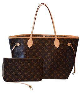 Louis Vuitton Lv Neverfull Mm Shoulder Bag