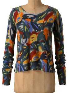 Anthropologie Vibrant Colors Sweater