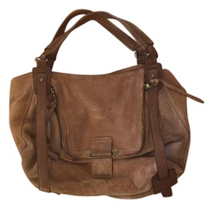 Kooba Suede Shoulder Bag