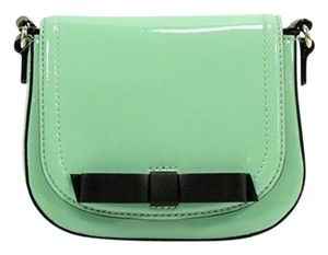 Kate Spade Chelsea Park Jade Patent Leather Cross Body Bag