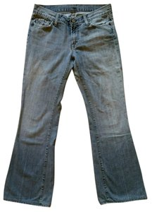 7 For All Mankind 7fam Flare Leg Jeans-Light Wash