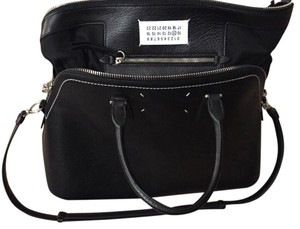 Maison Margiela Satchel in Black