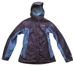 Columbia Sportswear Company Hiking Athletic Mountains Raincoat