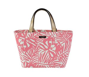 Kate Spade Grant Street Juno Grainy Vila Multicolor Tote in Palm Print