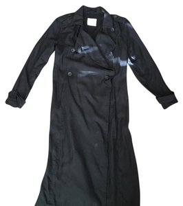 Abercrombie & Fitch Duster Punk Trench London Af Trench Coat