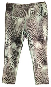 MPG MPG Julianne Hough Simpatico Palm Tree Crop Pant in Mint Green