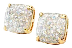 Kate Spade NEW Kate Spade New York Opal Galaxy Glitter Studs Earrings 12k Gold