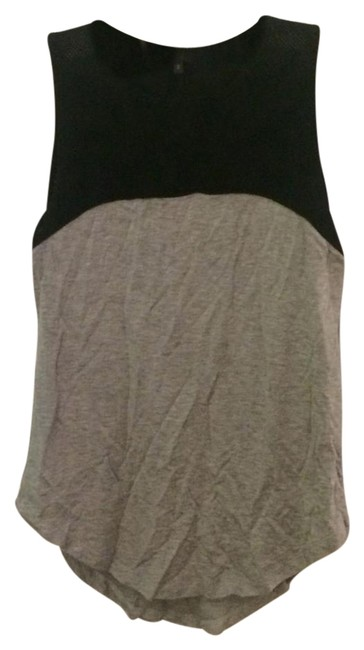 Item - Gray and Black Tank Top/Cami Size 4 (S)