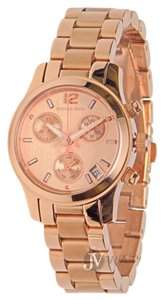 Michael Kors BRAND NEW WOMENS MICHAEL KORS (MK5430) MINI RUNWAY ROSE GOLD WATCH
