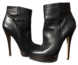 ALDO Stiletto Like New Leather Black Boots
