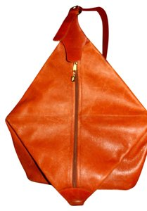 Mark Cross Leather Backpack Tote-hobo Cross Body Bag