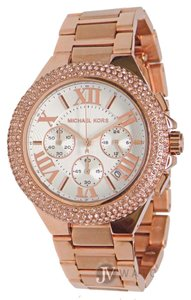927b6db32c04 Michael Kors NWT WOMENS MICHAEL KORS (MK5636) CAMILLE ROSE GOLD CHRONOGRAPH  WATCH