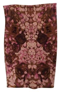 MCQ by Alexander McQueen Skirt multicolor (depths of pink, olive)