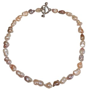 Other KEISHI FRESHWATER PEARL NECKLACE CREAMY COLORS , 7 X 13 MM - 7 X 16 MM
