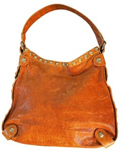 Kooba Studded Hobo Shoulder Bag
