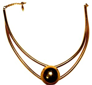Other VTG Brass Ball Choker, Like New, One Size