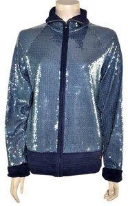 Chanel 2008 Cruise Sequin Blue Jacket
