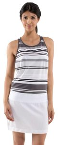 Lululemon short dress Black, white, gray on Tradesy