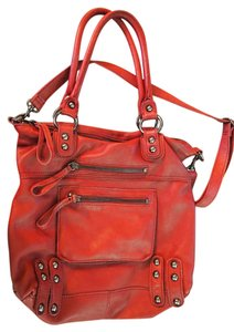 Linea Pelle Dylan Tote in Red