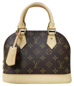 Louis Vuitton Lv Brand New Alma Bb Satchel in monogram