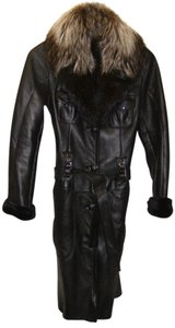 Rubis Russian Fur Leather Totally Stylish Fur Coat