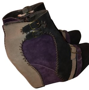 Restricted Purple Boots