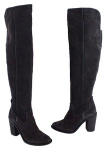 Dolce Vita Otk Over The Knee Gray Boots