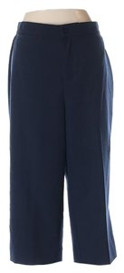 Christopher & Banks Cropped New Work School Capris Navy