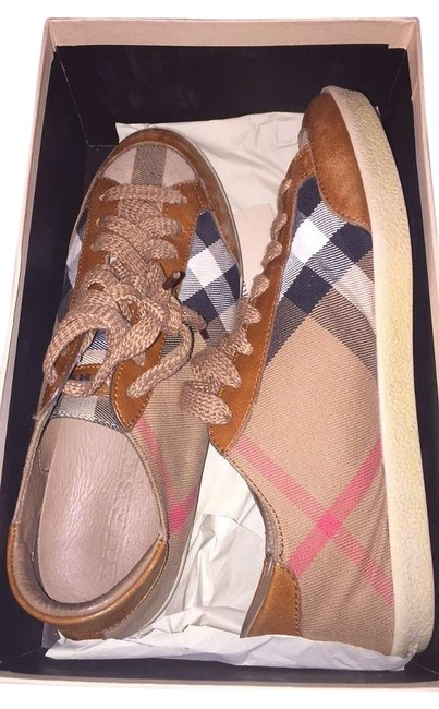 Item - Tan Hartfields Sneakers Size US 10 Narrow (Aa, N)
