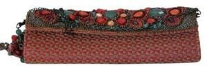 Mary Frances Multi Color Clutch