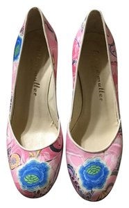 Bettye Muller Platform Multi-color Pumps