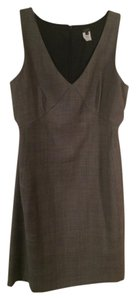 J.Crew V -neck Wear To Work Sheath Office Dress