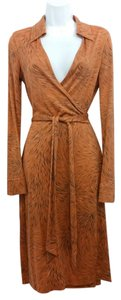 Diane von Furstenberg short dress Dvf Silk Wrap on Tradesy