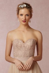 BHLDN Blush 33158148 Carina Corset Feminine Wedding Dress Size 4 (S)