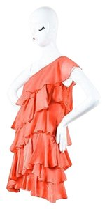 Halston Heritage Coral One Dress