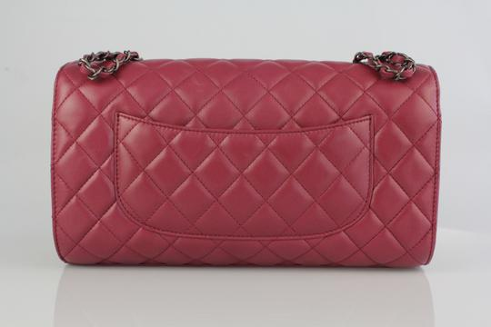 Chanel Lambskin Leather Quilted Classic Shoulder Bag