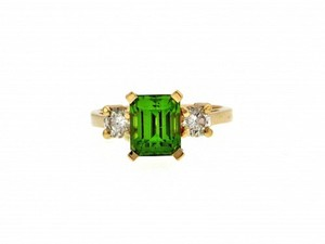 Other GORGEOUS - WHOLESALE 14k 3 carats Peridot diamond ring