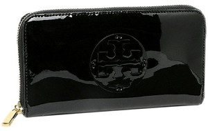 Tory Burch Tory Burch Patent Leather Continental Zip Wallet