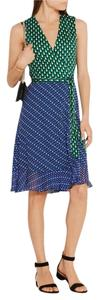 Diane von Furstenberg short dress Multi Silk Wrap Sleeveless on Tradesy
