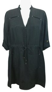 Diane von Furstenberg short dress Dvf Black on Tradesy