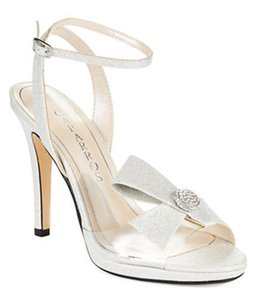Caparros Leigh Shimmery Blush Wedding Shoes