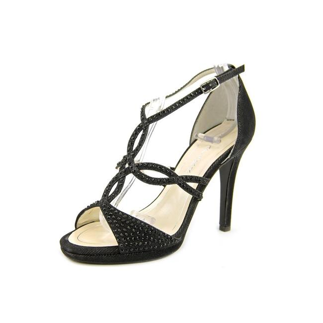 Item - Black Nixie Sandals Size US 7.5 Regular (M, B)
