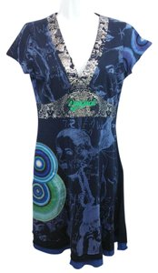 Desigual short dress Cotton Jersey on Tradesy