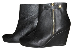 Chinese Laundry Boots Leather Ankle Women. Black Boots
