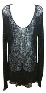 Helmut Lang Black Knit Sweater