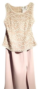 Adrianna Papell Top Beige