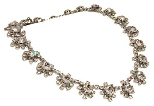 Kramer Kramer Of New York Rare Crystal Choker Floral Necklace