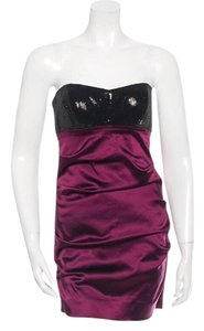 Nicole Miller Cocktail Flattering Hourglass Formal Ruched Dress