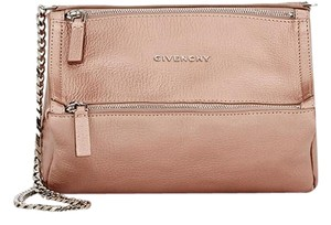 Givenchy Pandora Mini Metallic Cross Body Bag